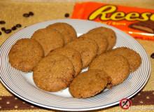 Kawowe ciasteczka z Reese's