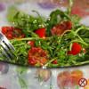 Sałatka z rukoli i suszonych pomidorów