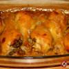 Pałki kurczaka w glazurze z miodu, musztardy i imbiru