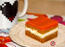 Ciasto marchewkowe z kremem