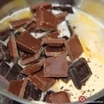Ciasto brownie snickers