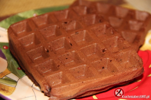 Gofry brownie