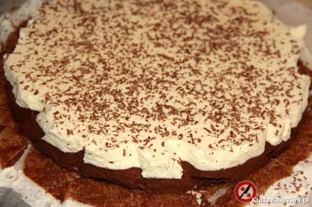 Ciasto potrójnie czekoladowe