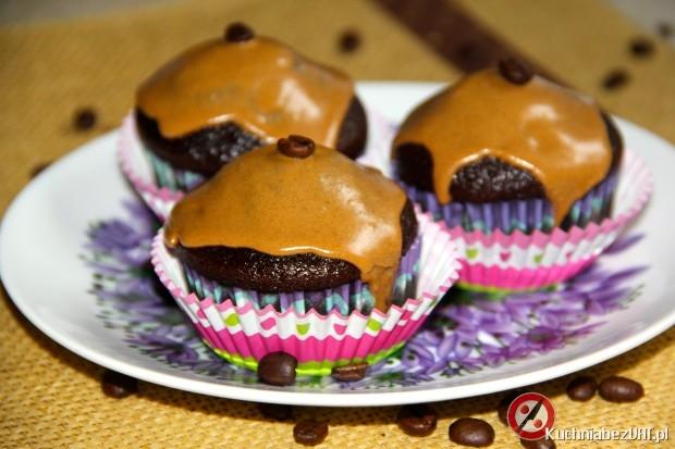 Muffinki kawowe z lukrem