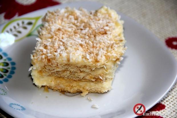 Ciasto Rafaello na krakersach